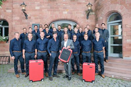 伴随德国队远赴2014年度巴西世界杯
